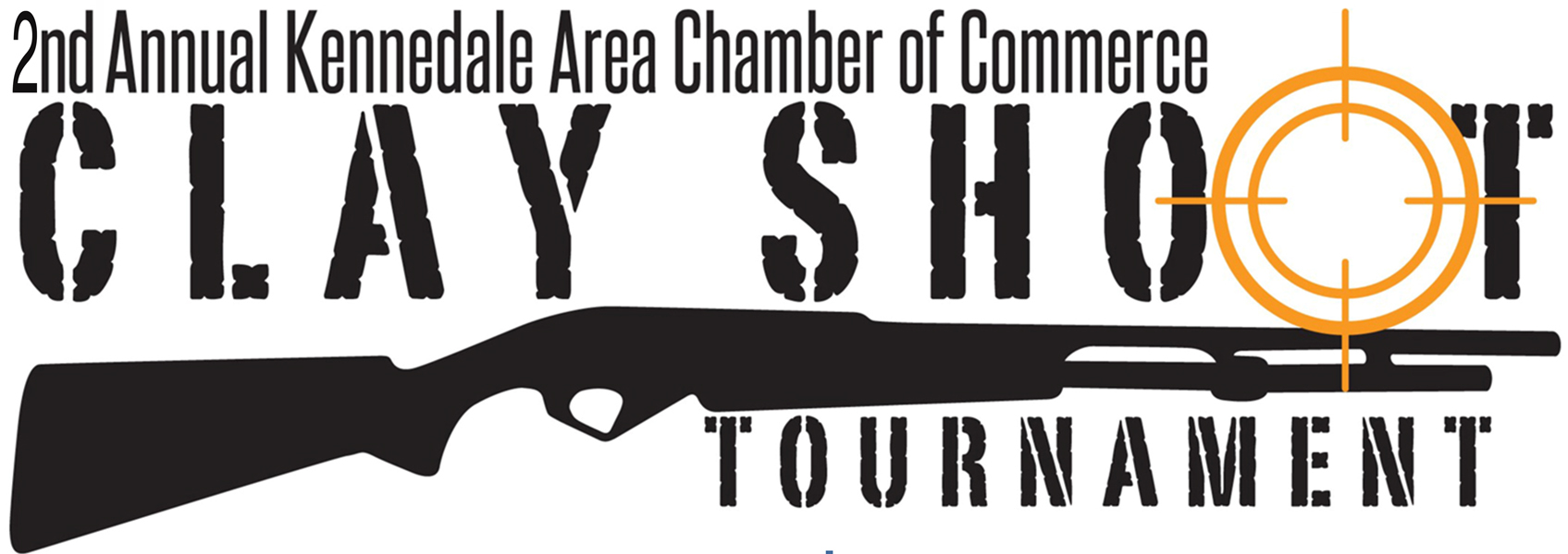 2nd annual Clay Shoot logo