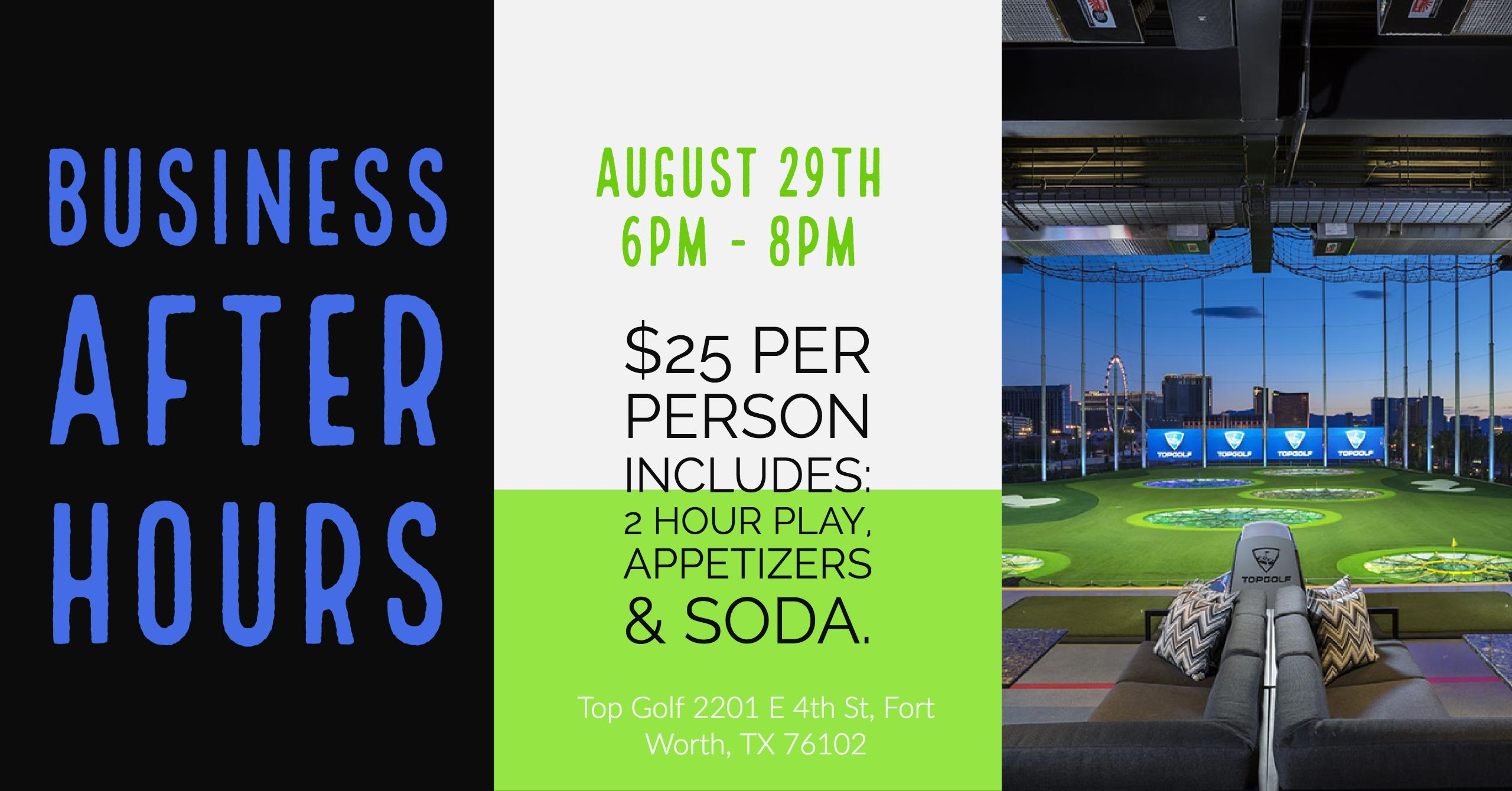 Business After Hours Topgolf Kennedale Area Chamber Of Commerce